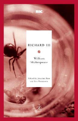 Richard III By Shakespeare, William/ Bate, Jonathan (EDT)/ Rasmussen, Eric (EDT)